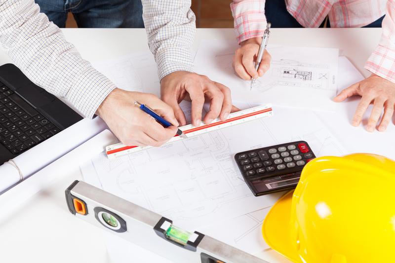 Architekten planen Designtüren